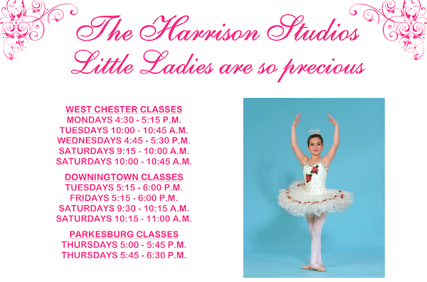 Little Ladies Schedule